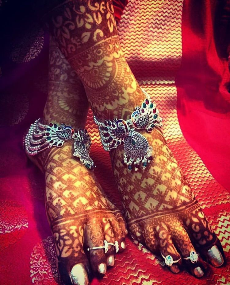 Foot Mehandi Design | Weddings Junction