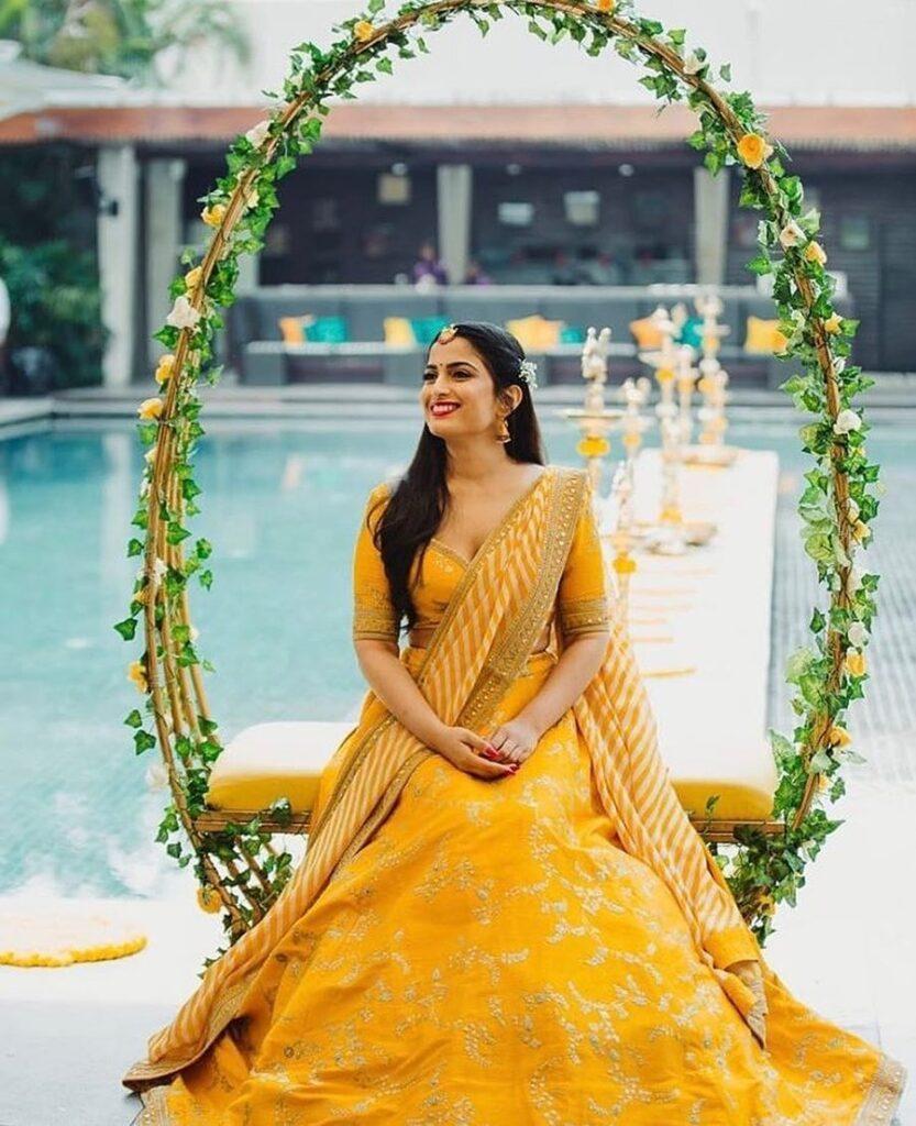Yellow Lehenga | Weddings Junction